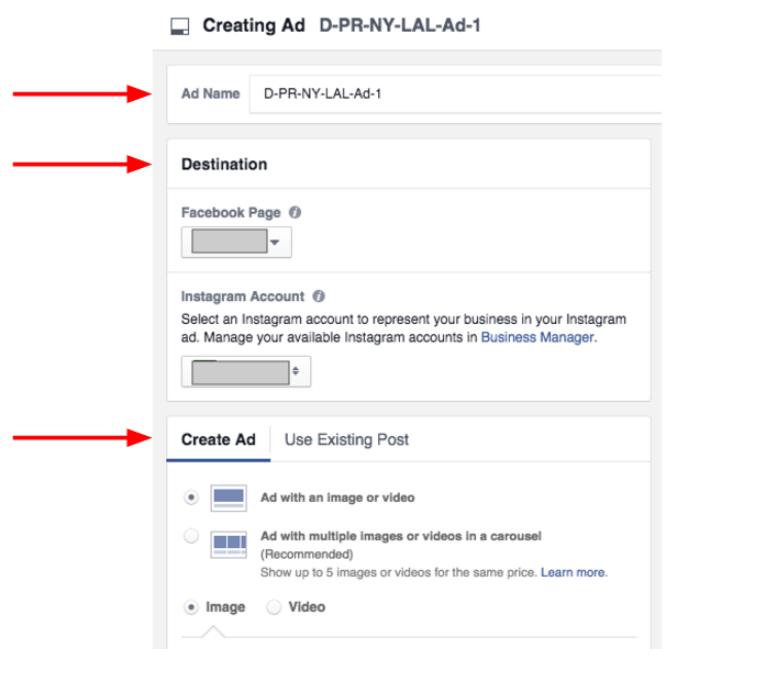 Facebook Ad Creation